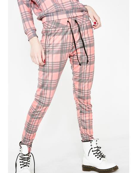 Sweetheart Plaid Demi Leggings