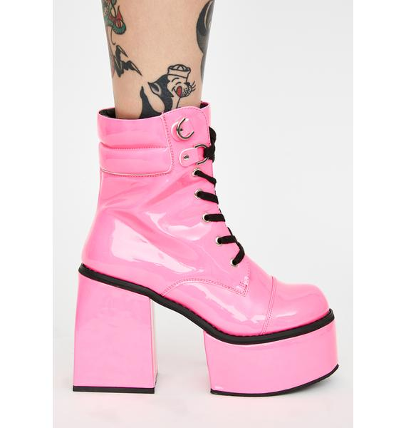Baby What Was Said Ankle Boots