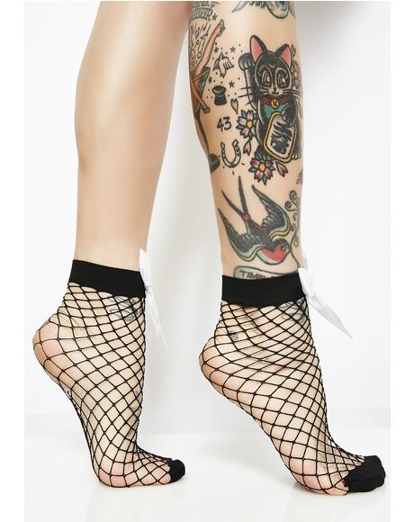 BB Girl Fishnet Socks