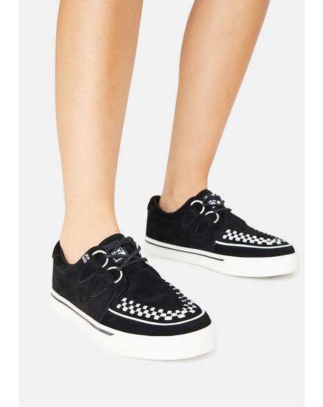 Black D-Ring VLK Sneakers