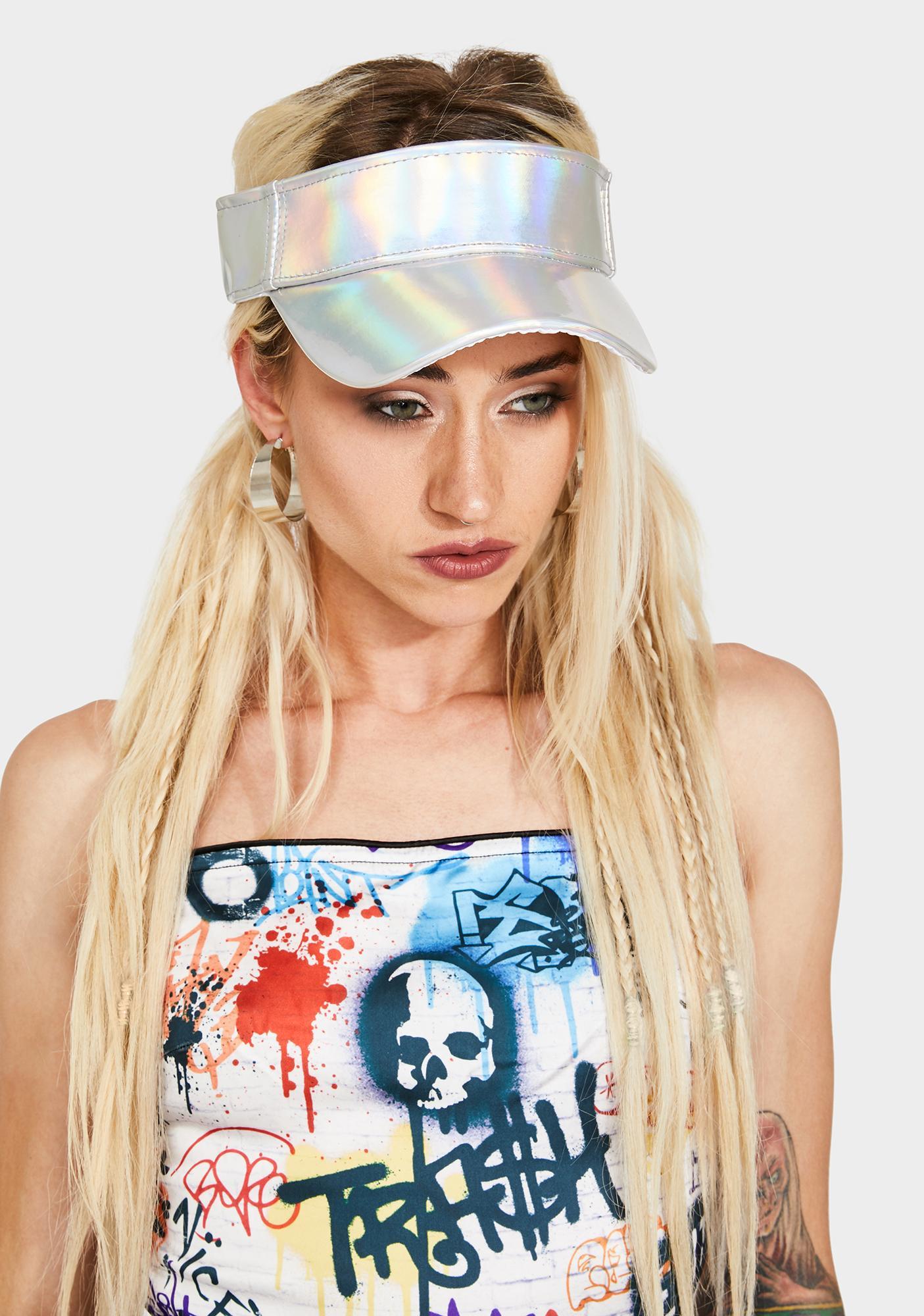 Chic Dimension Visor Hat