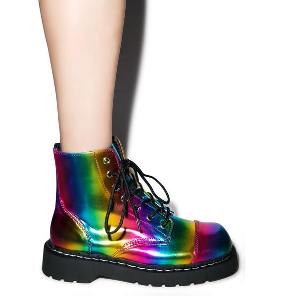 T.U.K. Rainbow 7 Eye Boot