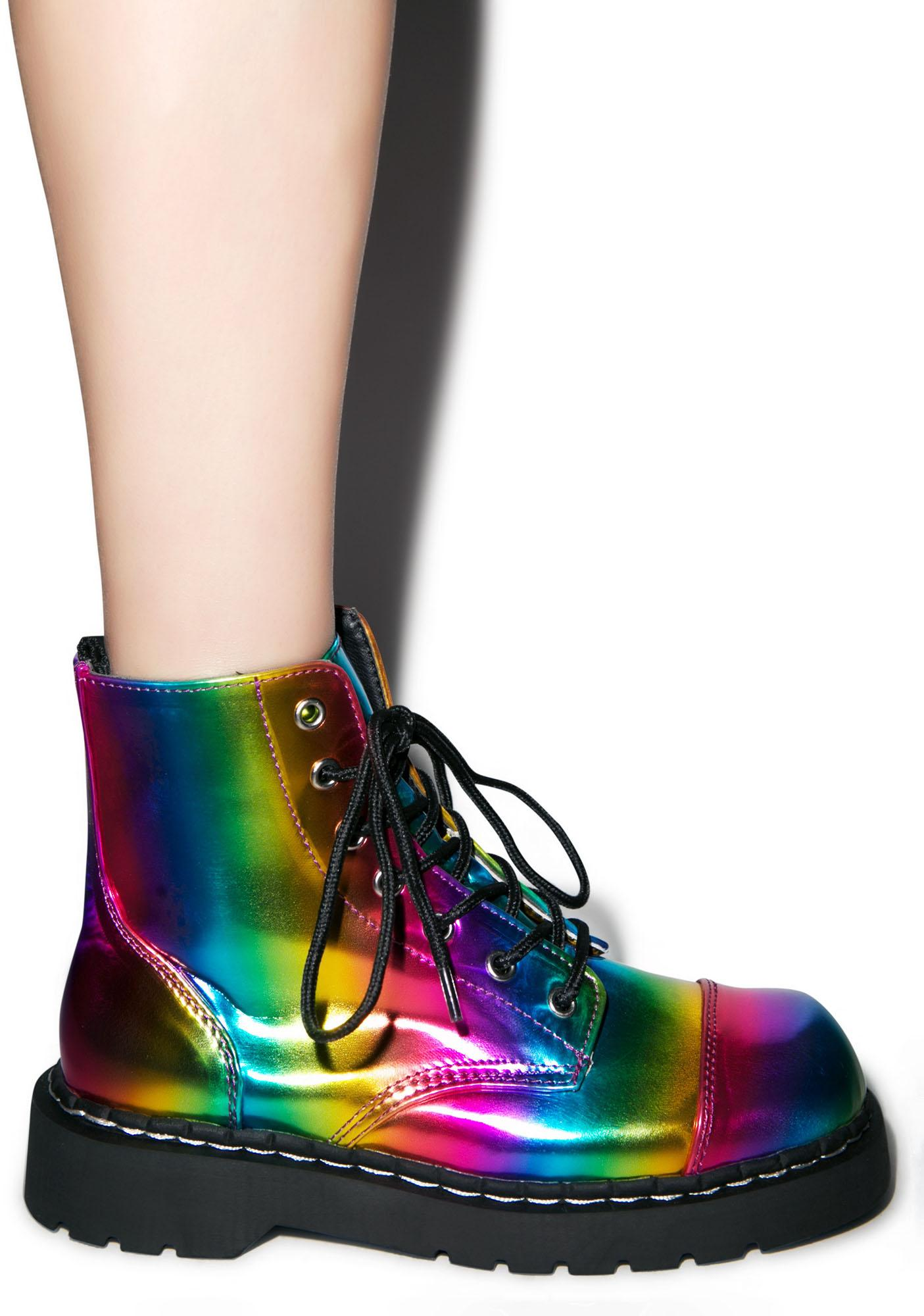 T.U.K. Rainbow 7 Eye Boot