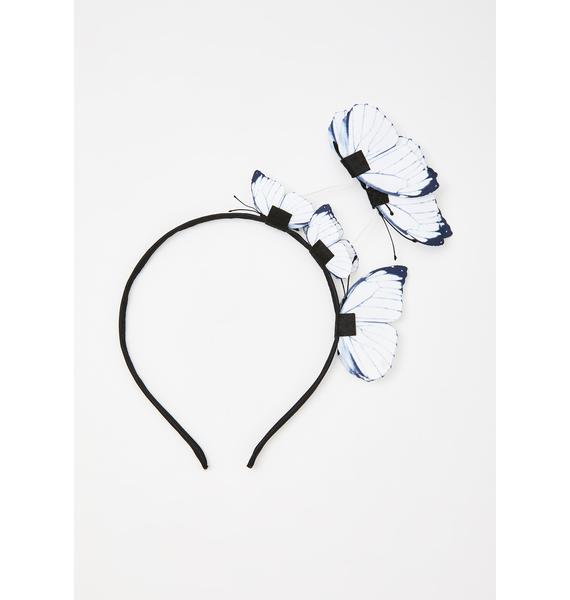 Pure Flutter Faerie Butterfly Headband