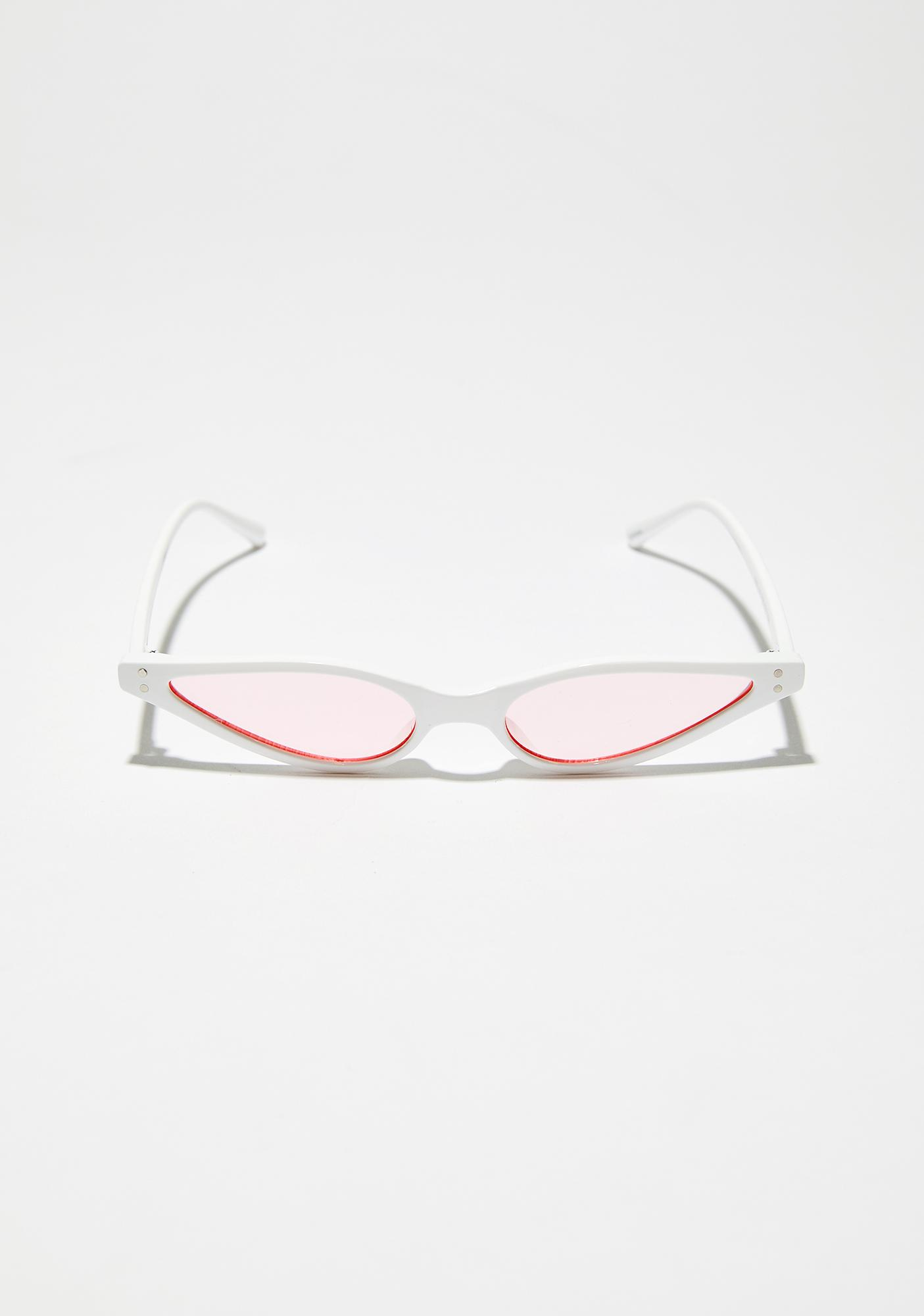 Clouded Thoughtz Skinny Sunglasses
