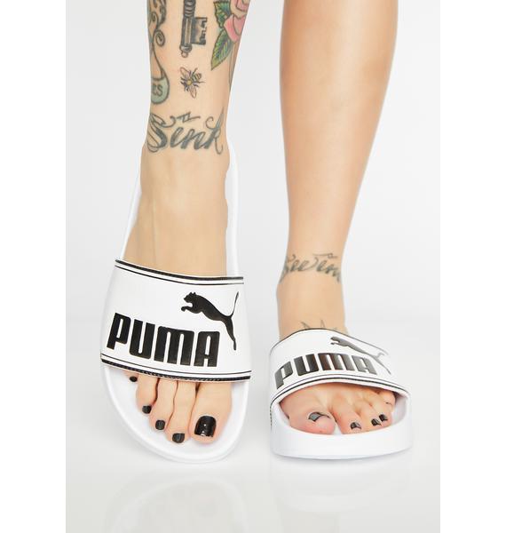 PUMA Icy Leadcat Slides