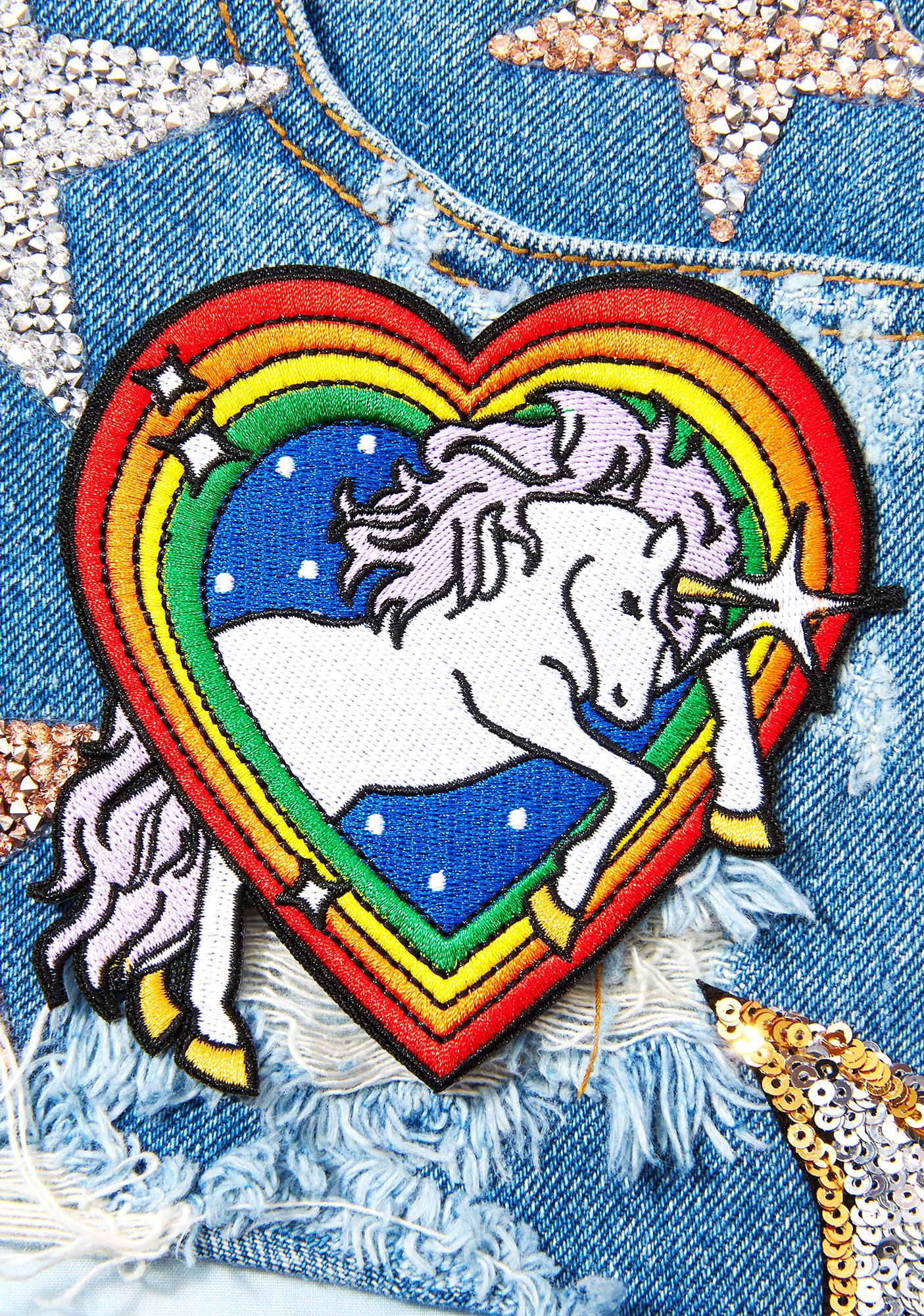 Laser Kitten Magic Unicorn Patch