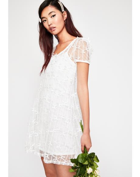 Heaven Knows Lace Mini Dress
