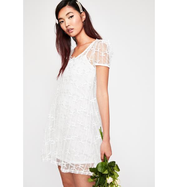Current Mood Heaven Knows Lace Mini Dress