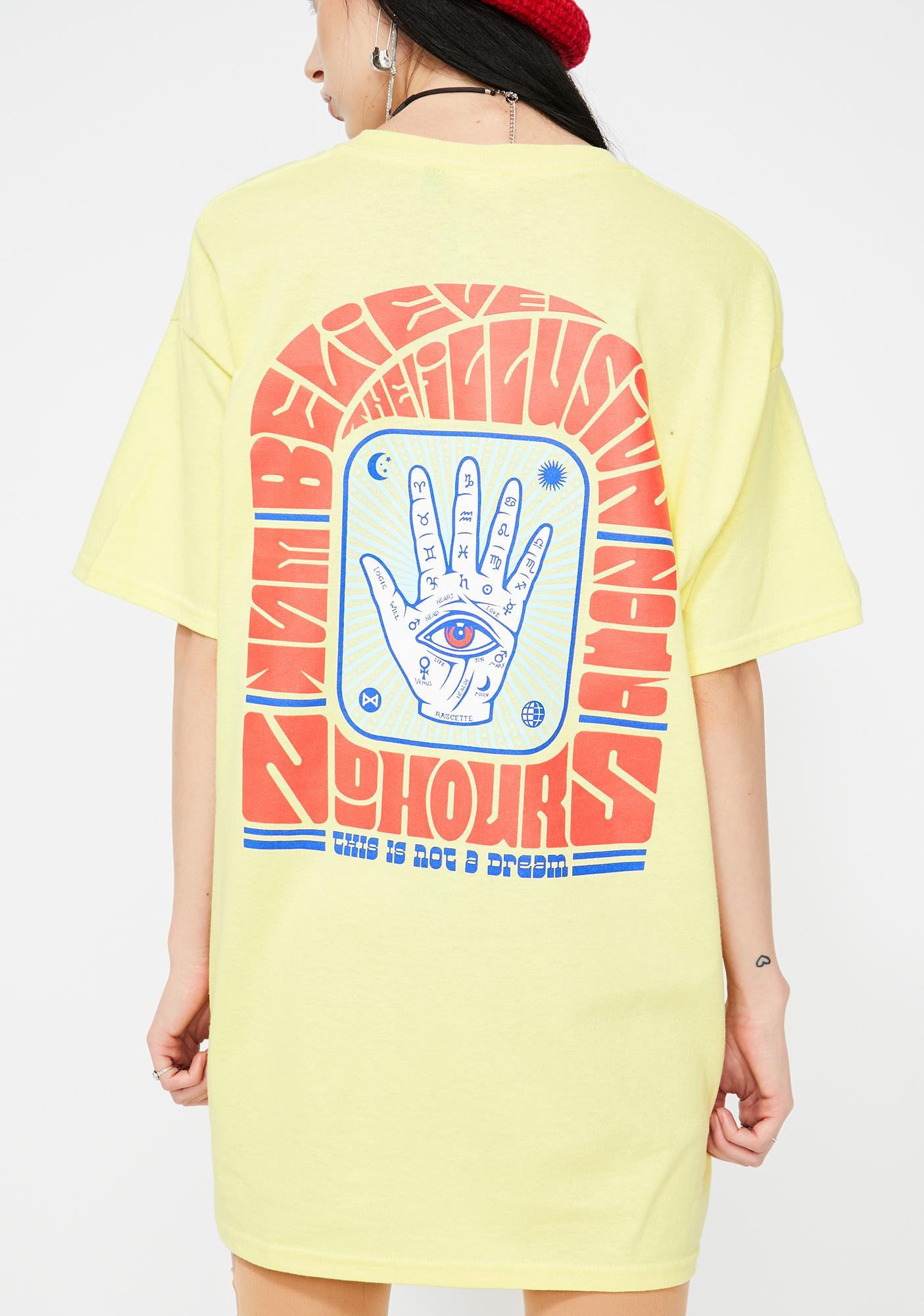 No Hours Illusion Graphic Tee