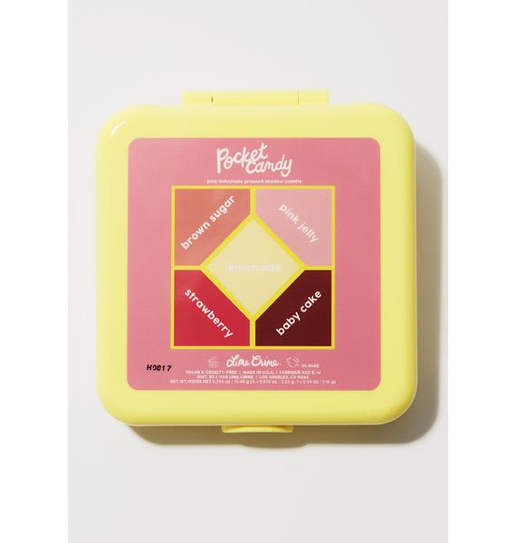 Lime Crime Pink Lemonade Pocket Candy Palette