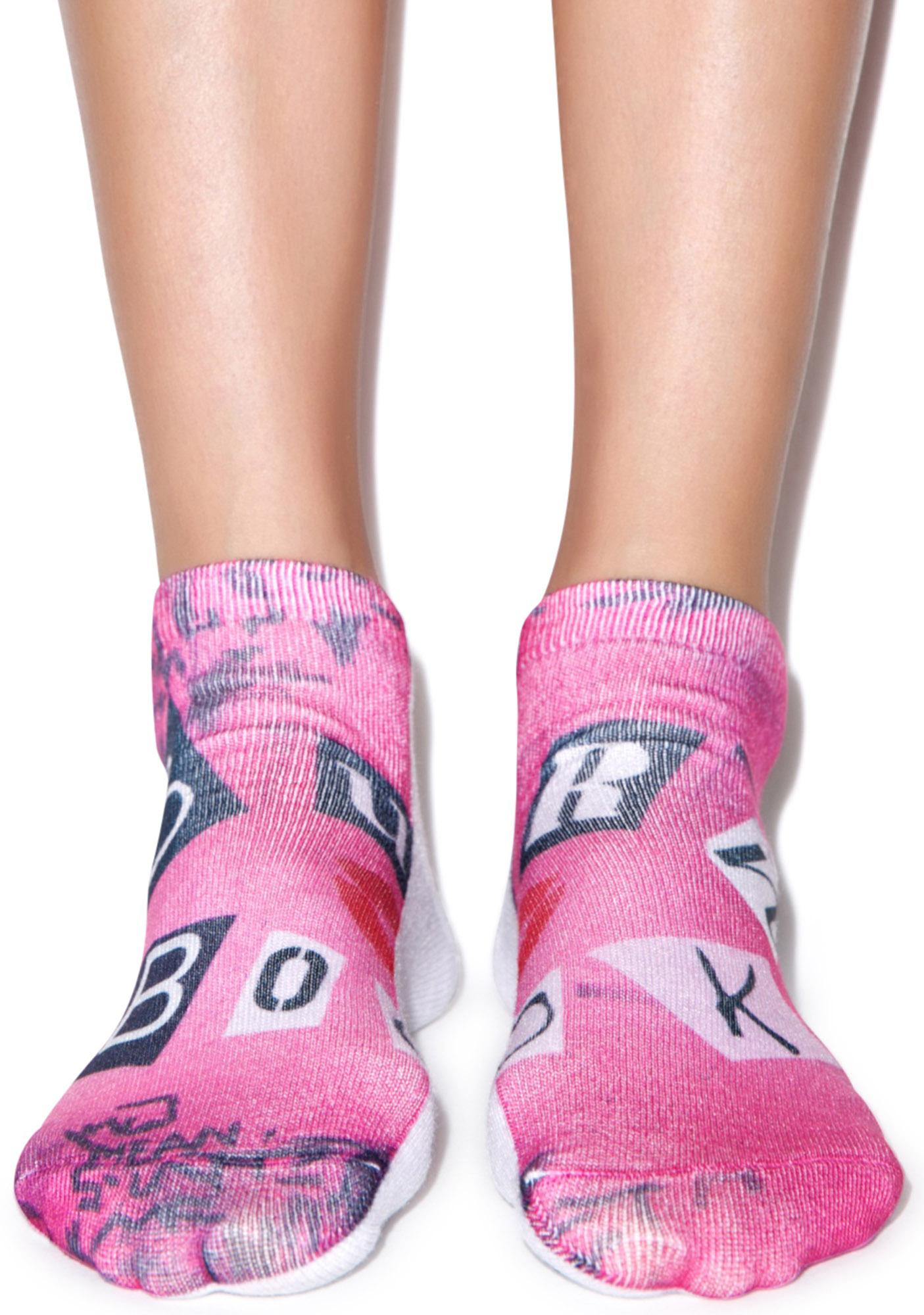 The Burn Book Ankle Socks