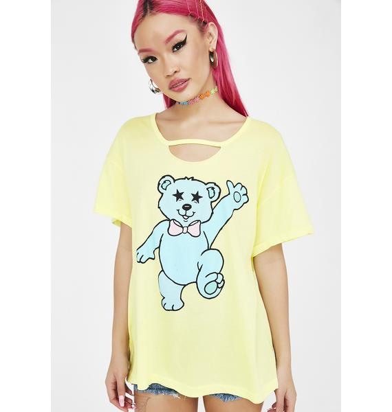 Wildfox Couture Groovy Teddy Tee