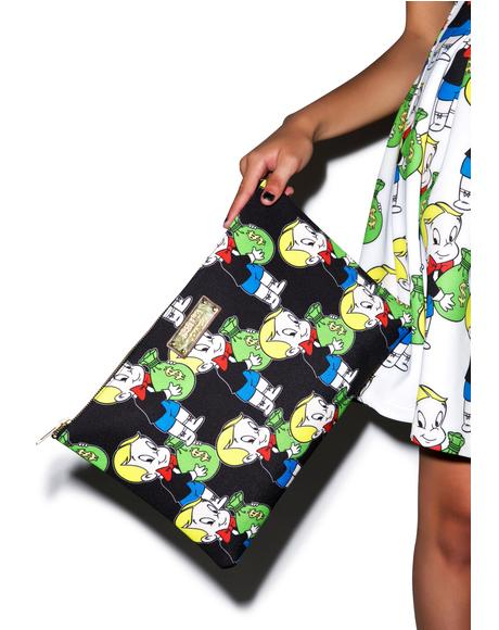 Richie Rich Clutch Bag