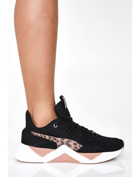 Incite Leopard Wns Sneakers