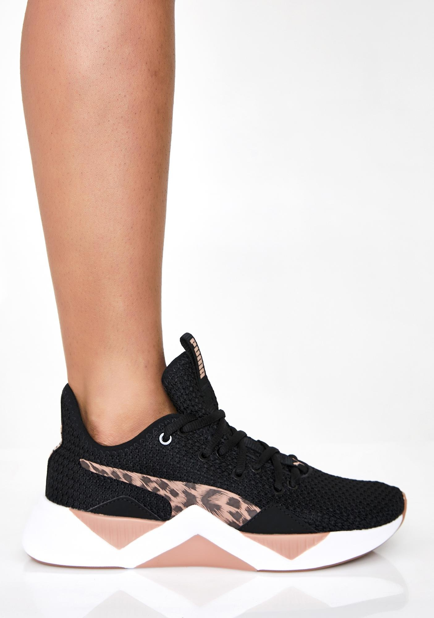 puma leopard sneaker