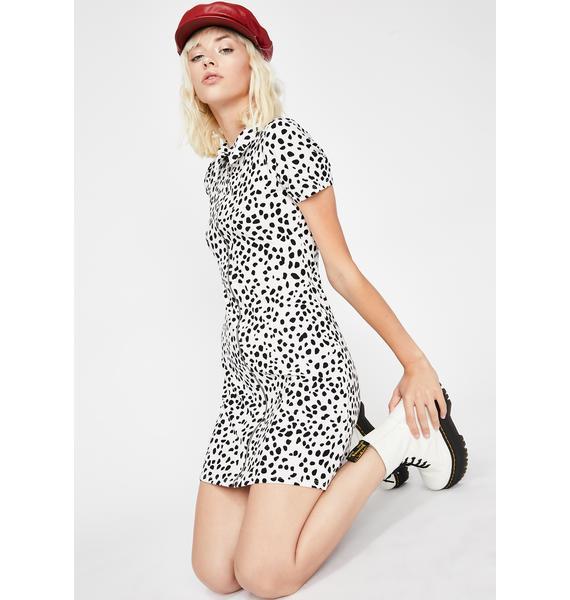 Ella De Vil Dalmatian Dress