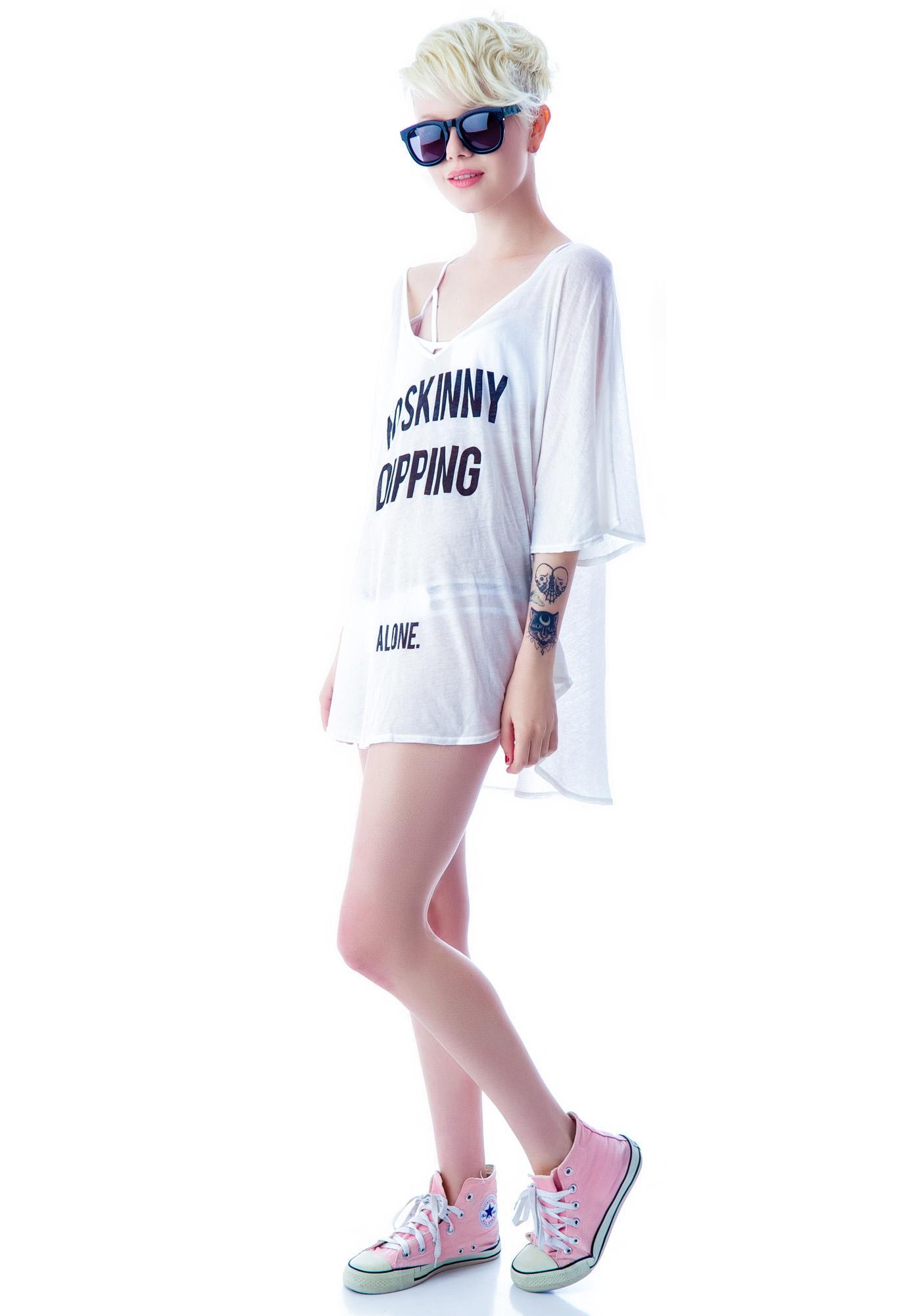 Wildfox Couture No Skinny Dipping Tahiti Tunic