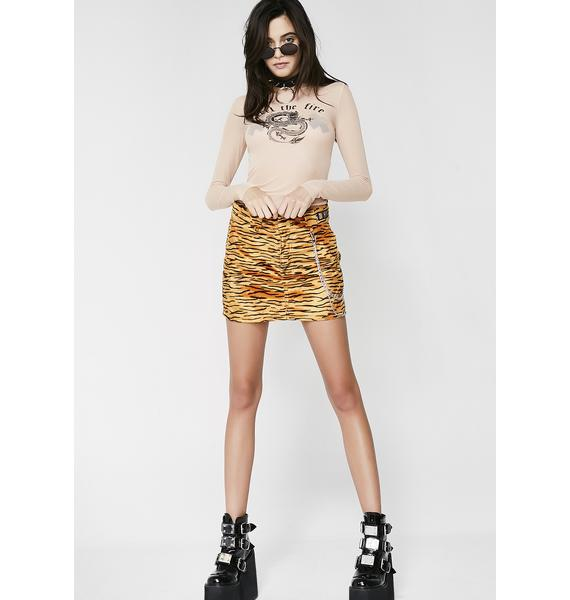 O Mighty Tiger Baby Chain Skirt