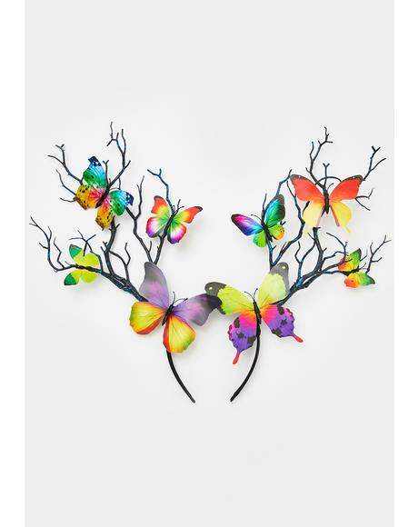 Eden's Veins Butterfly Headband