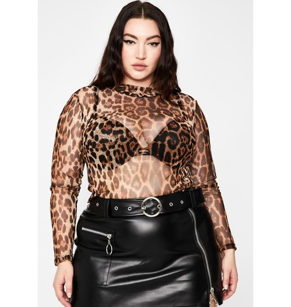 Wild Hold Me Tight Mesh Top