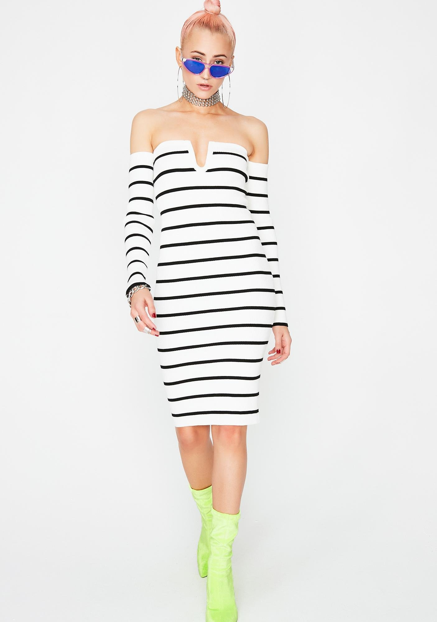 Stay Vibin' Stripe Dress