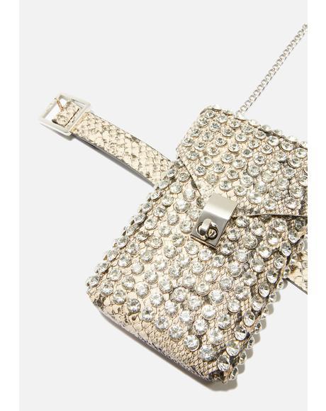 Sweet Deceit Rhinestone Bag