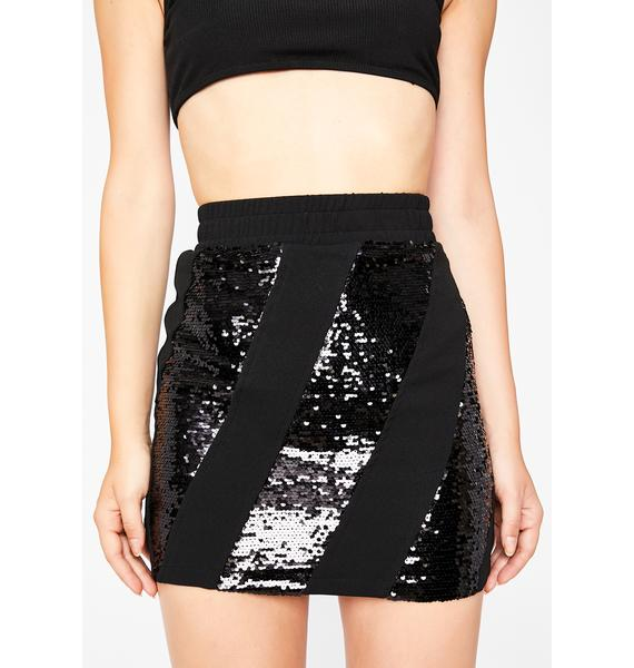 Flashin' Lightz Sequin Skirt