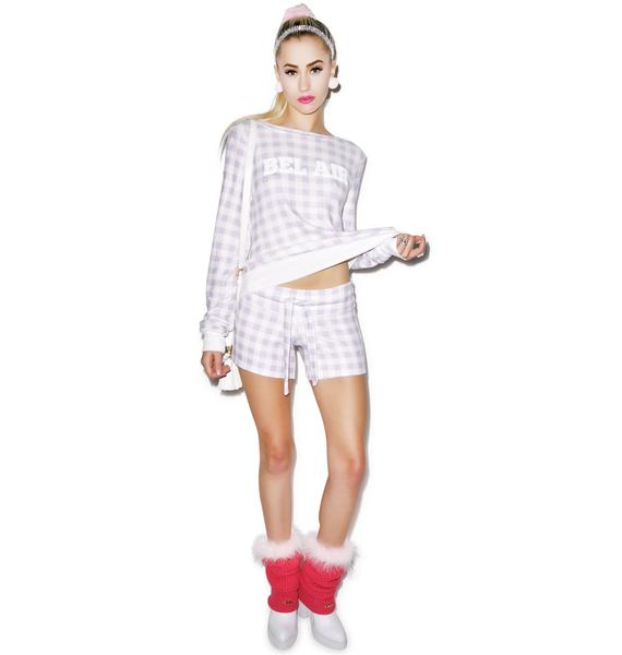 Wildfox Couture Gingham Cutie Shorts