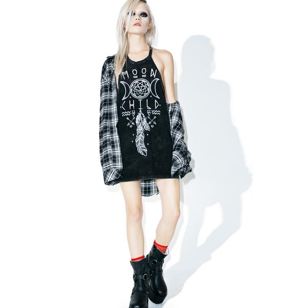 With The Moon Tank Dress