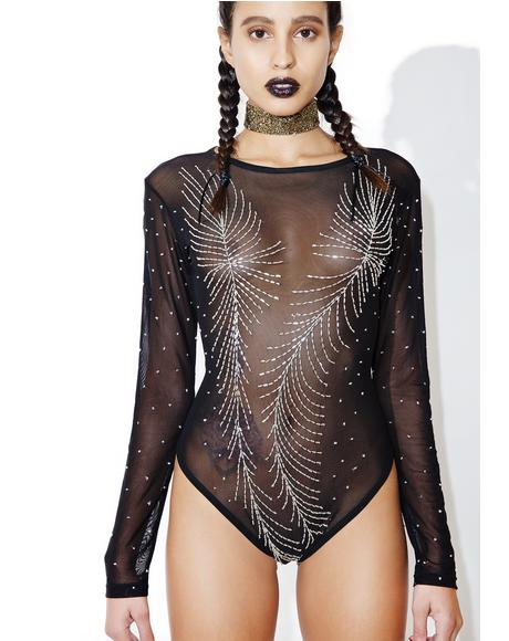 Sequin Mesh Bodysuit