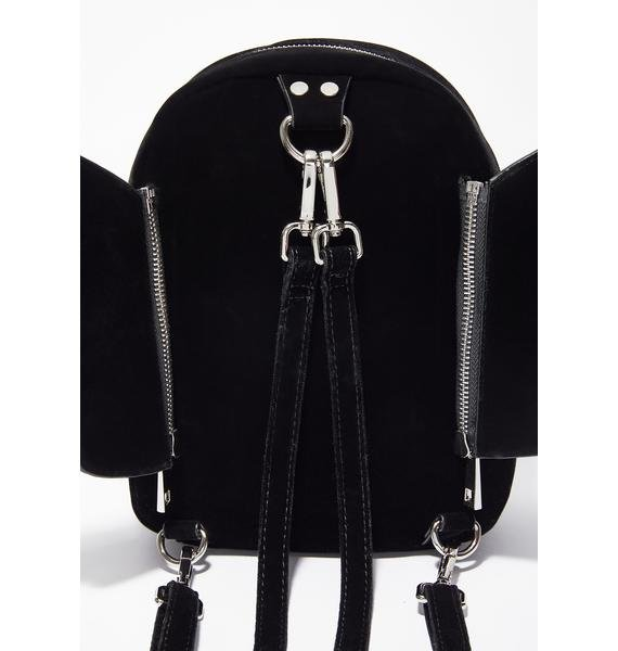 Current Mood Velvet Batshit Cray Backpack
