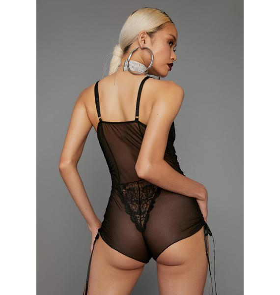 Poster Grl Hidden Talent Mesh Romper