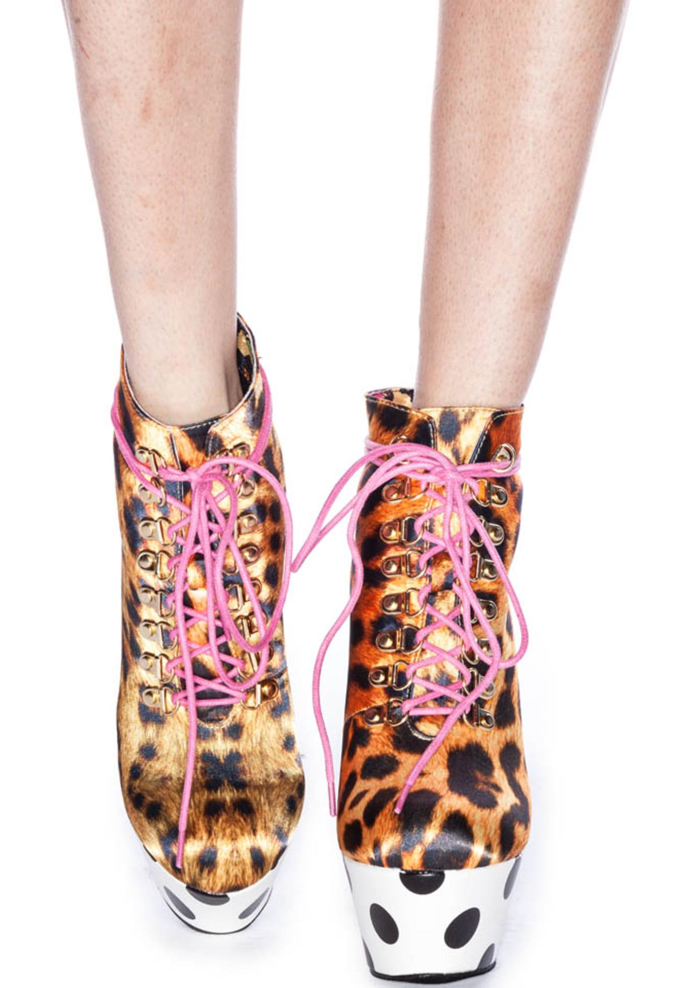 Iron Fist Climbing Trees Platform Booties
