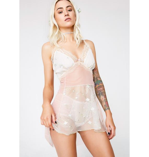 Next to Nothing Ethereal Romance Sheer Nightie
