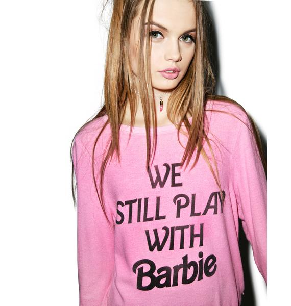 Wildfox Couture Not Too Old Baggy Beach Jumper
