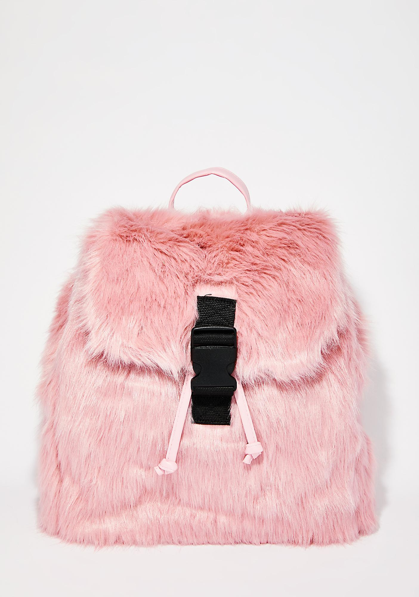 Skinnydip Candy Fur Backpack