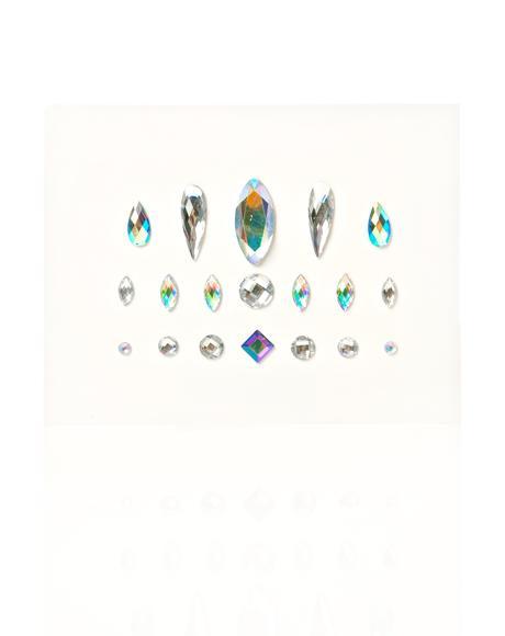 Single Clear Face Gems