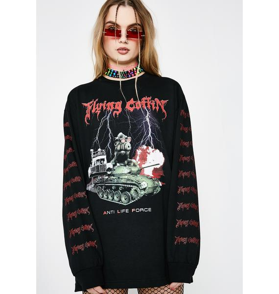 Flying Coffin A.L.F Long Sleeve Tee