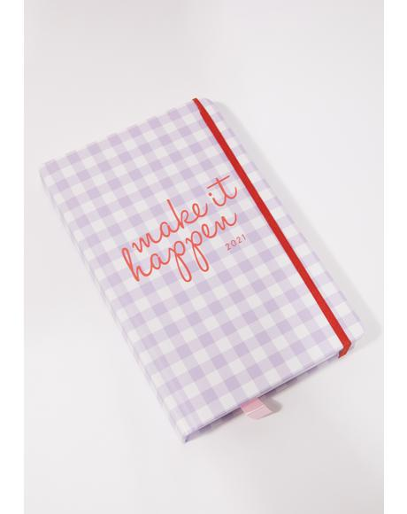 Lilac Dreams 2021 12 Month Planner