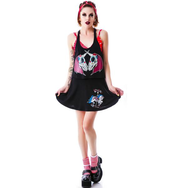Hell Bunny Carousel Skirt