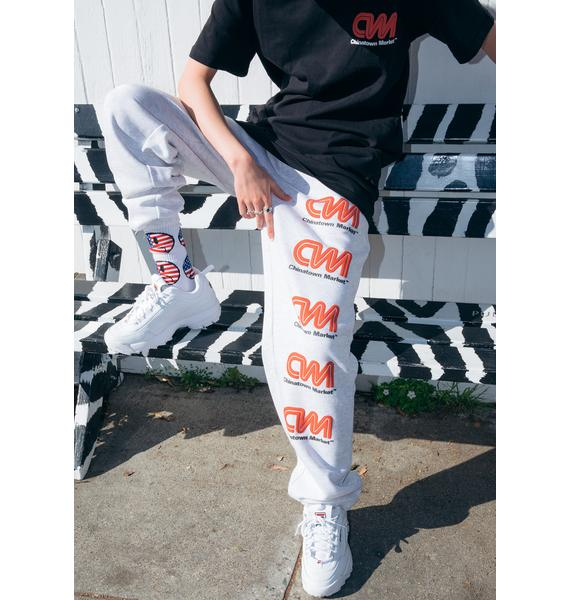 CHINATOWN MARKET Most Trusted Graphic Sweatpants