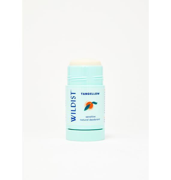 Wildist Tangellow: Natural Sensitive Deodorant