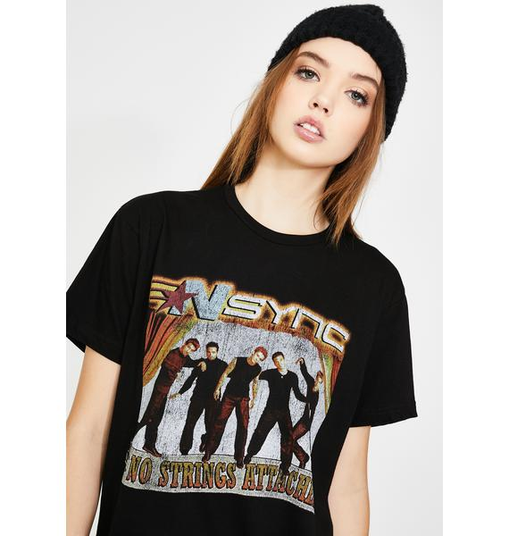 Goodie Two Sleeves NSYNC No Strings Attached Graphic Tee