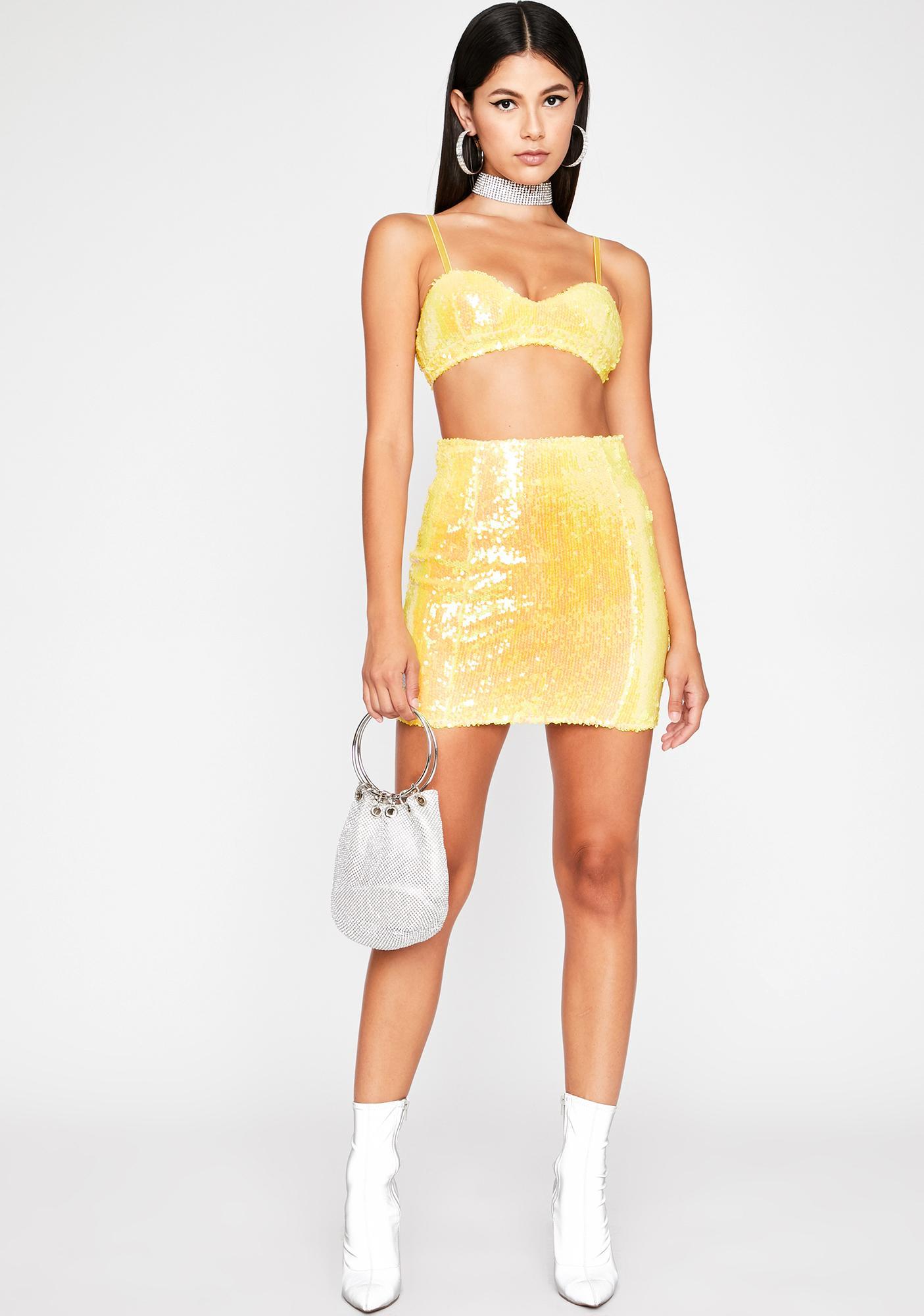 Honey Steady Hustlin' Skirt Set