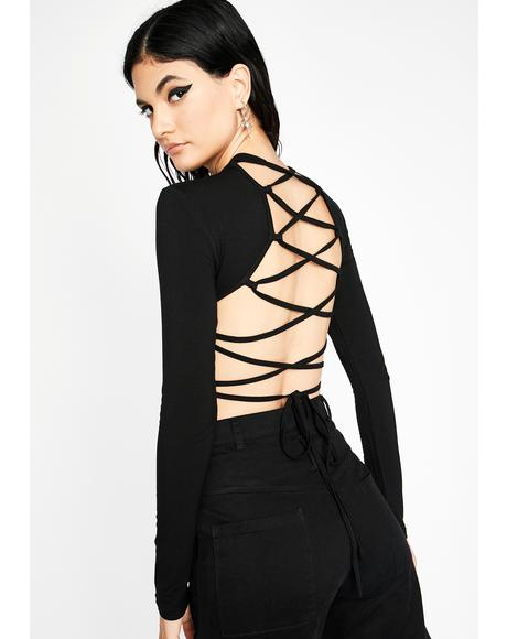 Backlash Long Sleeve Bodysuit