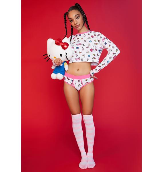 Dolls Kill x Hello Kitty My Favorite Things Thermal Undies