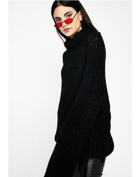 Stay Up Knit Sweater