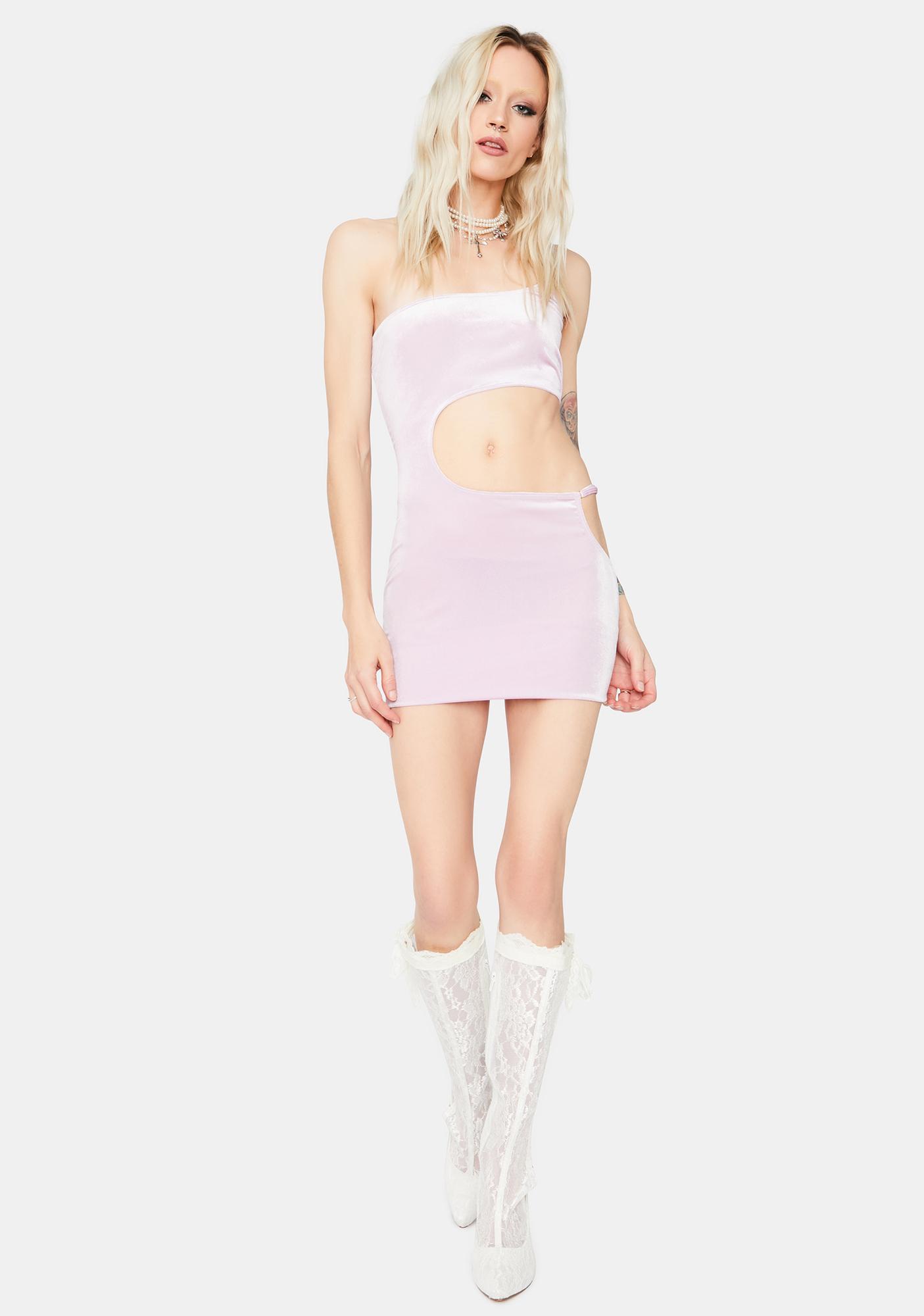 Define The Relationship Cutout Mini Dress