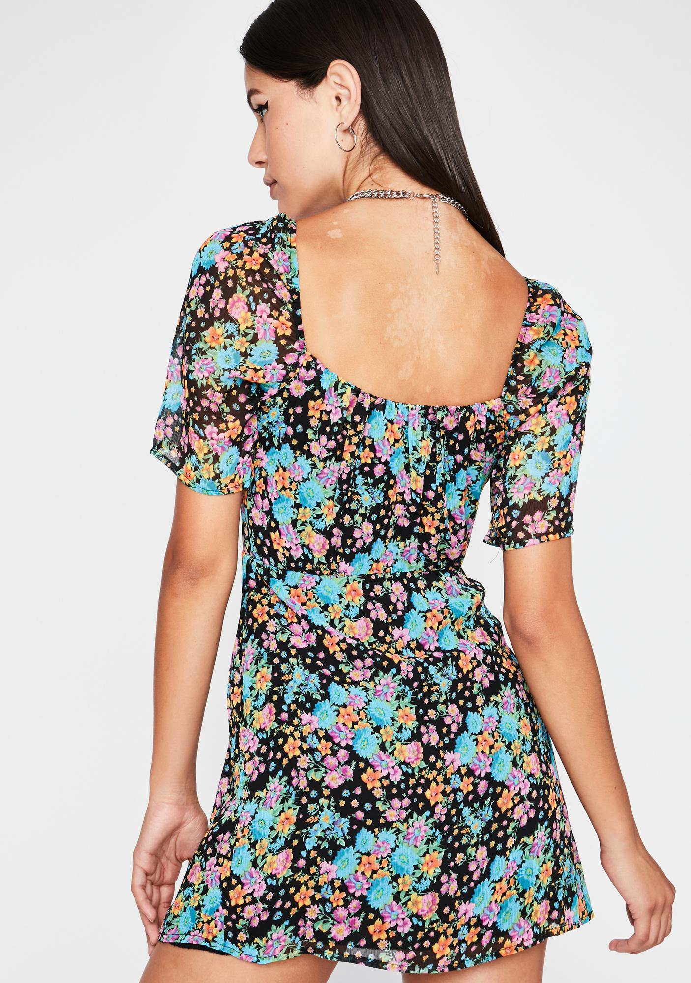 Free Spirited Bohemian Floral Sundress